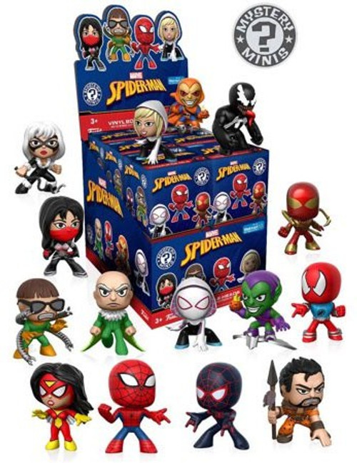 Funko Marvel Mystery Minis Spider-Man Exclusive Mystery Box [12 Packs]