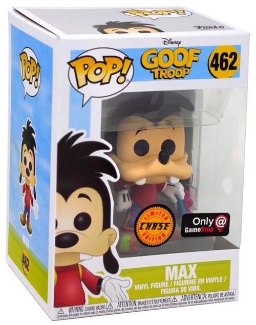 Funko Goof Troop POP! Disney Max Exclusive Vinyl Figure #462 [Skateboard, Chase Version]