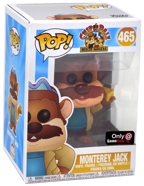 Funko Chip 'n Dale Rescue Rangers POP! Disney Monterey Jack Exclusive Vinyl Figure #465