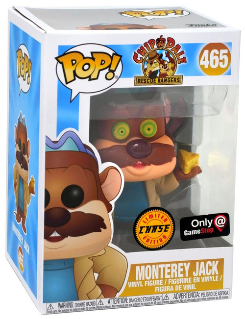 Funko Chip 'n Dale Rescue Rangers POP! Disney Monterey Jack Exclusive Vinyl Figure #465 [Cheese-Attack, Chase Version]