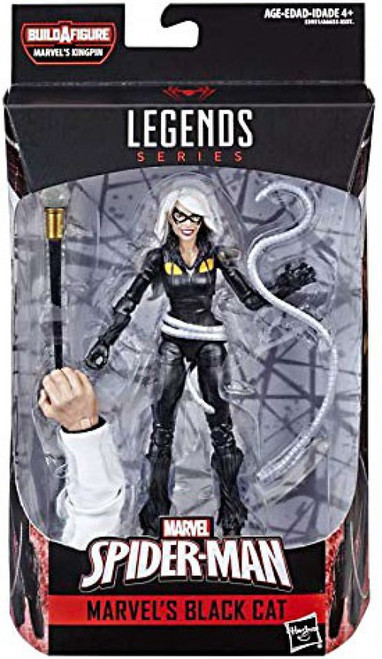 Spider-Man Marvel Legends Infinite Kingpin Series Black Cat Action Figure [Modern Costume]