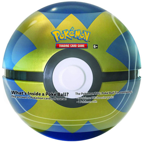 Pokemon Trading Card Game Quick Ball Tin Set