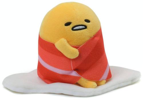 Sanrio Gudetama 4.5-Inch Plush [Bacon Blanket]