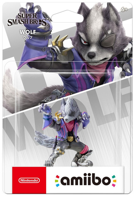 Nintendo Super Smash Bros Amiibo Wolf Mini Figure