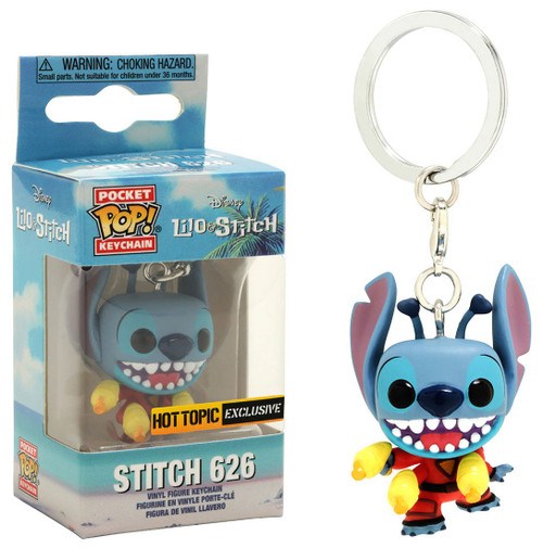 Funko Lilo & Stitch POP! Disney Stitch 626 Exclusive Keychain
