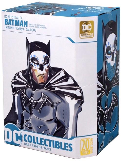 "DC Artist Alley Batman Exclusive 6.5-Inch PVC Collector Statue [Hainau ""Nooligan"" Saulque, Day of the Dead Variant]"