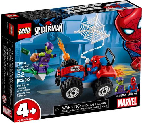 LEGO Marvel Spider-Man Car Chase Set #76133