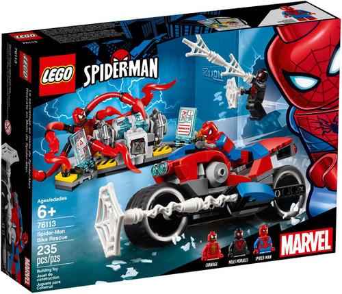 LEGO Marvel Spider-Man Bike Rescue Set #76113