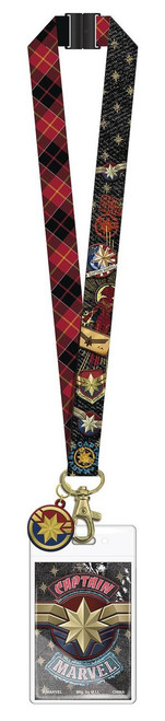 Captain Marvel Lanyard