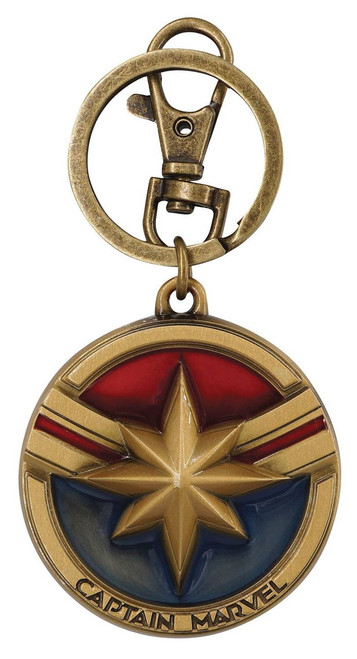 Captain Marvel Keychain