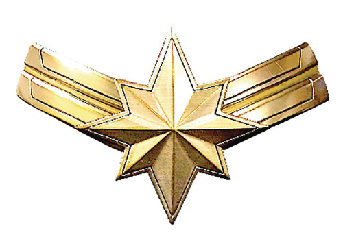 Captain Marvel Lapel Pin