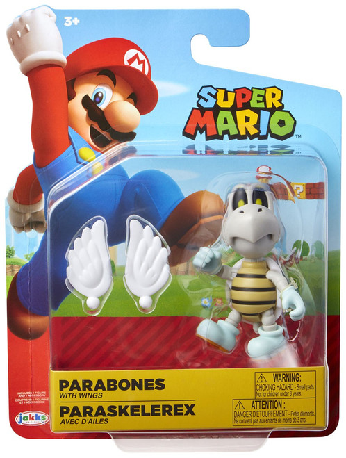 World of Nintendo Super Mario Wave 14 Parabones Action Figure [with Wings]
