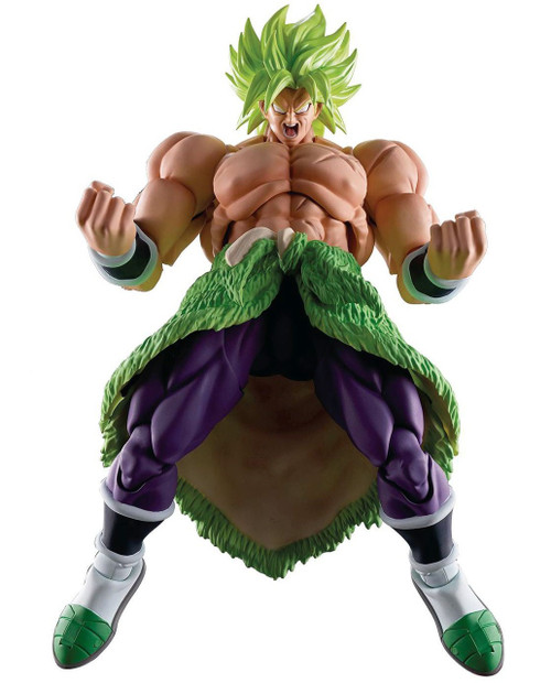 Dragon Ball Super: Broly S.H. Figuarts Super Saiyan Broly Full Power Action Figure