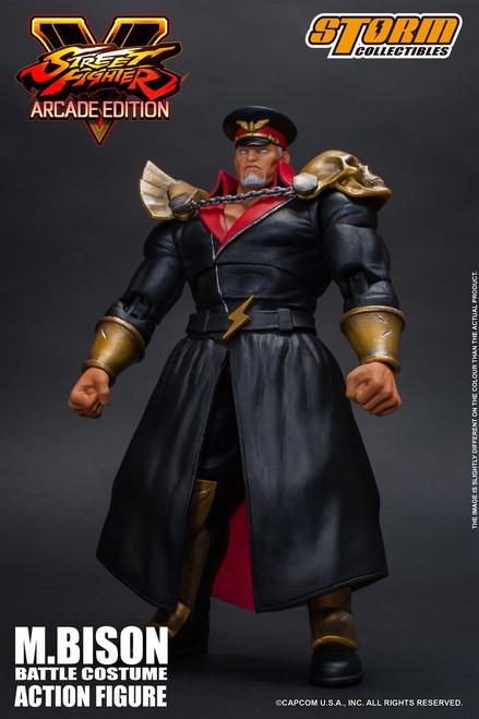 Street Fighter V M. Bison Action Figure [Battle Costume]