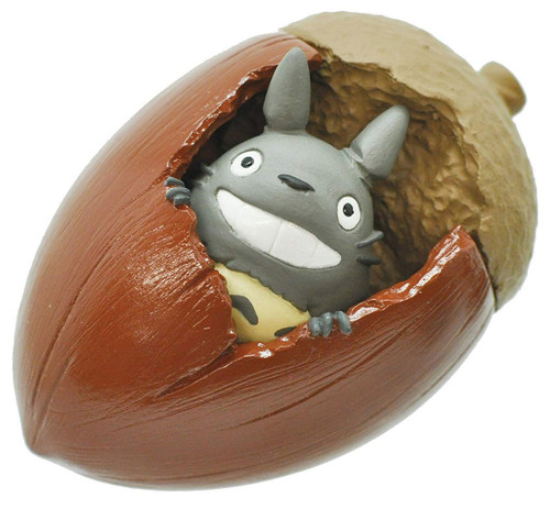 Studio Ghibli My Neighbor Totoro Totoro and Acorn Mini 3D Puzzle 3-Inch 3D Puzzle KM-m04
