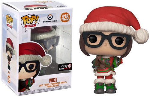 Funko Overwatch POP! Games Mei Exclusive Vinyl Figure #425 [Winter Wonderland]