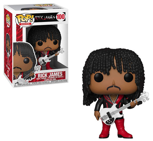 Funko POP! Rocks Rick James Vinyl Figure #100 [Super Freak Outfit]