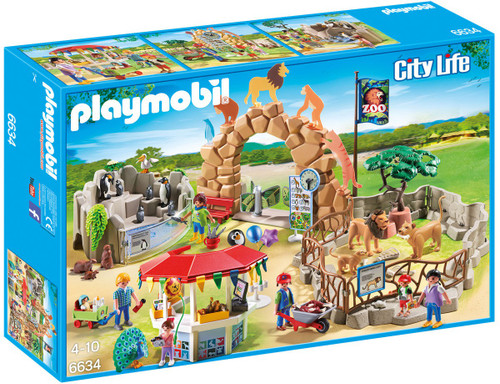 Playmobil City Life Large City Zoo Set