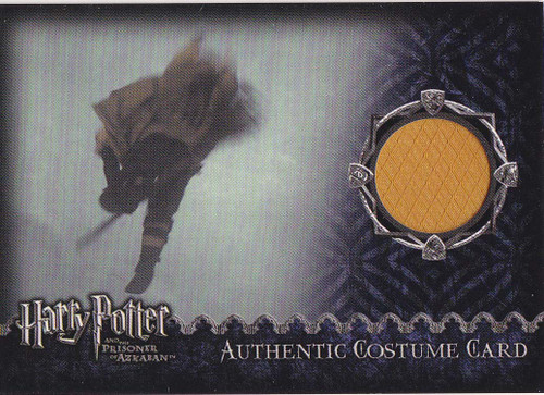 Harry Potter and the Prisoner of Azkaban Cedric Diggory Quidditch Uniform Authentic Costume Card [1273/2173]