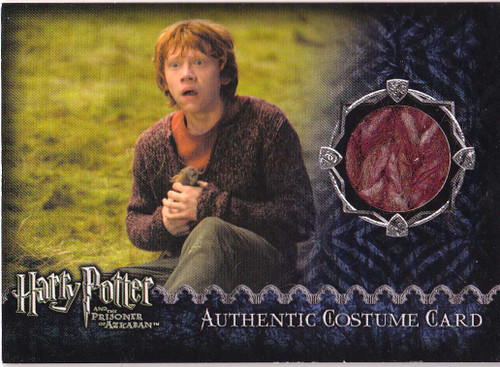 Harry Potter and the Prisoner of Azkaban Ron Weasley Authentic Costume Card [122/731]