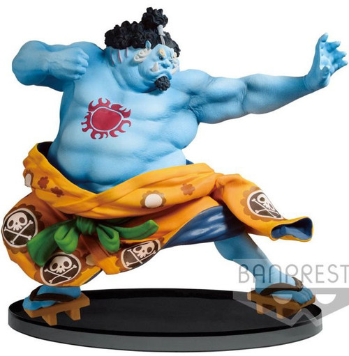 One Piece World Figure Colosseum 2 Jinbe 6.3-Inch Collectible PVC Figure Vol.4 [Normal Color Version]