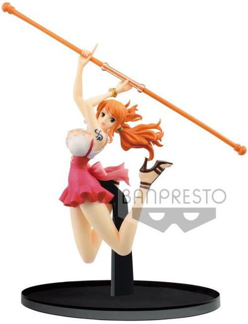 One Piece World Figure Colosseum 2 Nami 5.1-Inch Collectible PVC Figure Vol.3 [Normal Color Version]