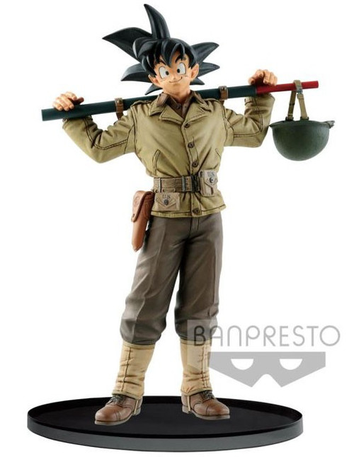 Dragon Ball Z World Figure Colosseum 2 Son Goku 7.1-Inch Collectible PVC Figure Vol.4 [U.S. Military Uniform]
