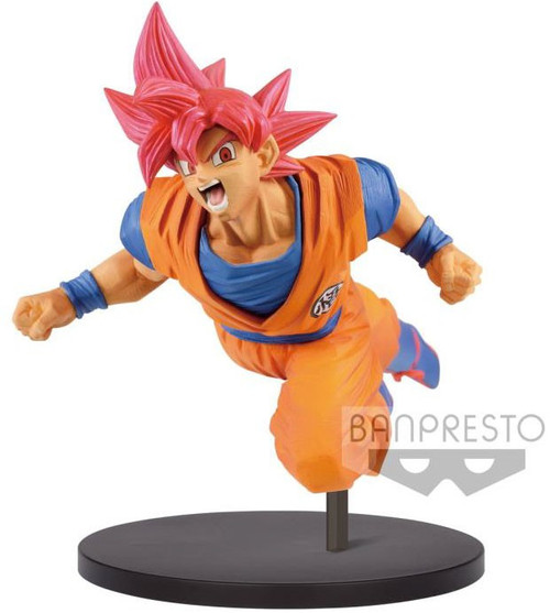 Dragon Ball Super FES!! Super Saiyan God Son Goku 7.9-Inch Collectible PVC Figure