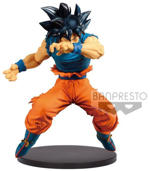 Dragon Ball Z Blood of Saiyans Ultra Instinct Son Goku 6.3-Inch Collectible PVC Figure Vol.2 [Special Version]