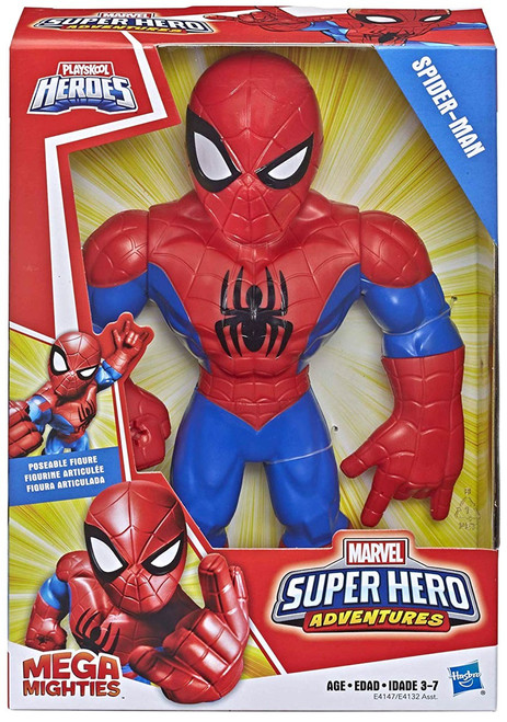 Marvel Playskool Heroes Super Hero Adventures Mega Mighties Spider-Man Action Figure