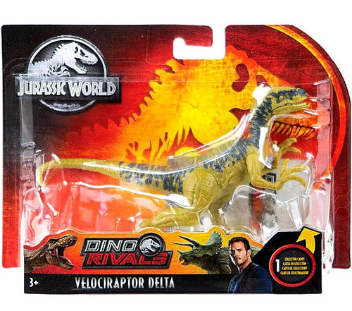 Jurassic World Fallen Kingdom Dino Rivals Velociraptor Delta Action Figure