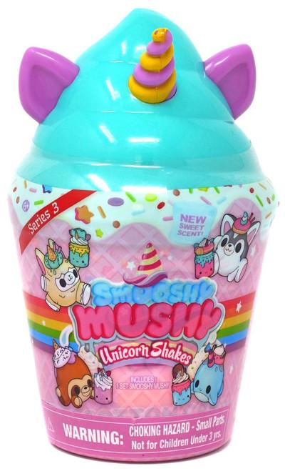 Smooshy Mushy Unicorn Shakes Smooshy Surprises! Series 3 TEAL Mystery Pack