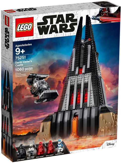LEGO Star Wars Darth Vader's Castle Exclusive Set #75251