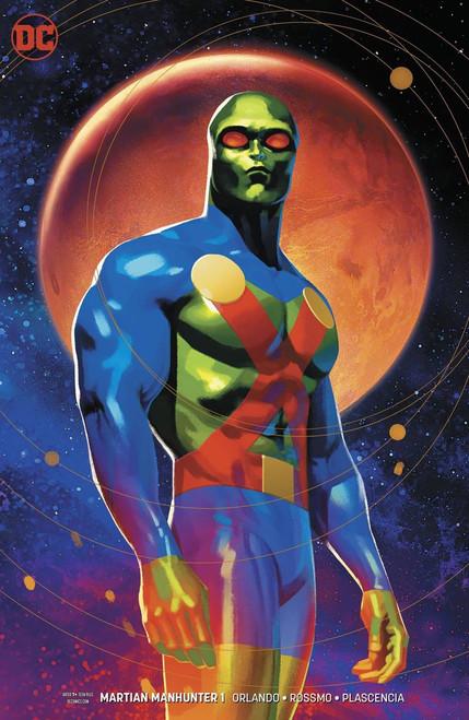 DC Martian Manhunter #1 of 12 Comic Book [Joshua Middleton Variant Cover]