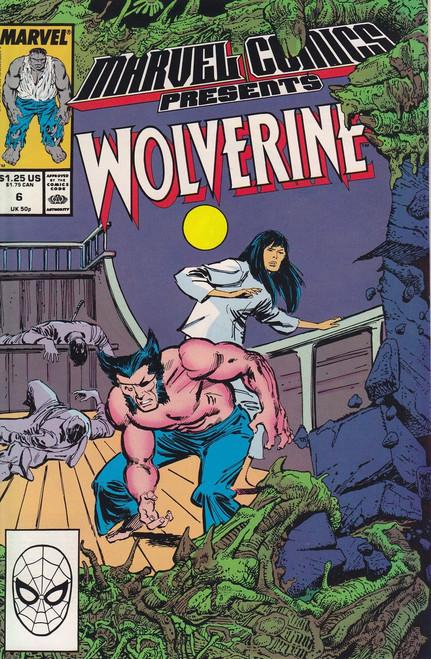 Marvel Comics Marvel Presents Vol 1 #6 Wolverine Comic Book