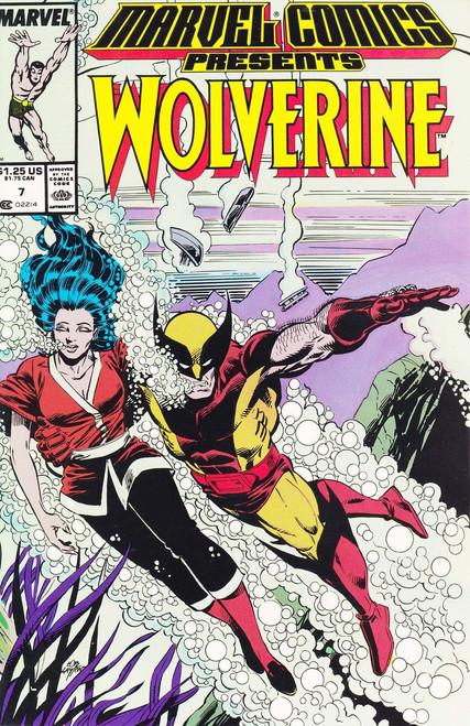 Marvel Comics Marvel Presents Vol 1 #7 Wolverine Comic Book