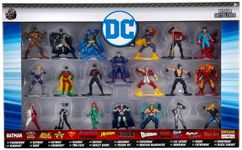 Nano Metalfigs DC Comics 1.5-Inch Diecast Figure 20-Pack [Version 2]