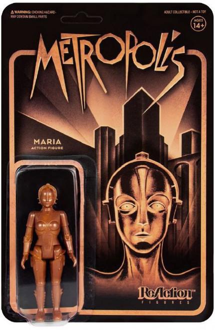 ReAction Metropolis Maria Action Figure [Gold]