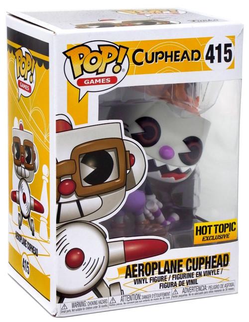 Funko POP! Games Evil Cuphead Vinyl Figure #417 [Error Package] [Error Packaging]