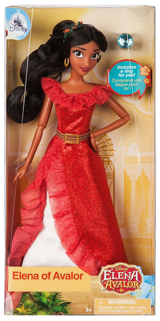 Disney Elena of Avalor Exclusive 11.5-Inch Classic Doll [with Ring]