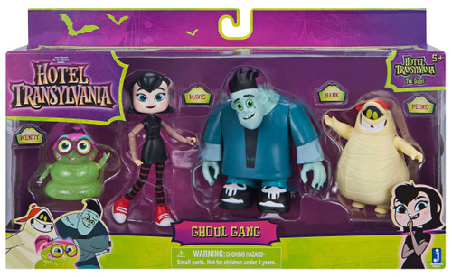 Hotel Transylvania The Series Ghoul Gang Action Figure 4-Pack