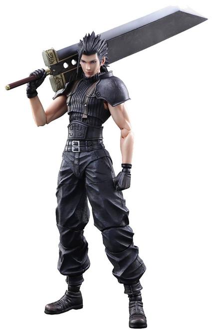 Final Fantasy VII Crisis Core Play Arts Kai Zack Fair Action Figure [2018 Version]