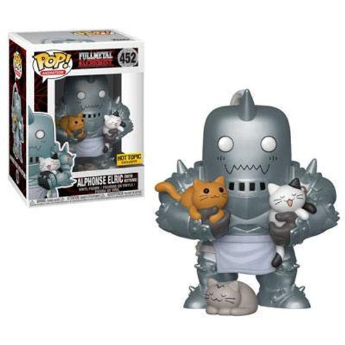 Funko Fullmetal Alchemist POP! Animation Alphonse Elric Exclusive Vinyl Figure #452 [with Kittens]