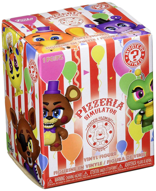 Funko Five Nights at Freddy's Mystery Minis Pizzeria Simulator Mystery Pack