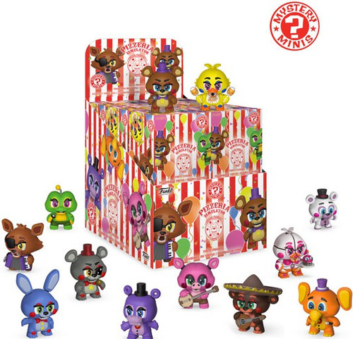 Funko Five Nights at Freddy's Mystery Minis Pizzeria Simulator Mystery Box [12 Packs]