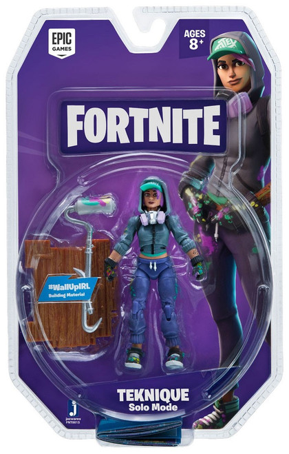 Fortnite Solo Mode Teknique Action Figure