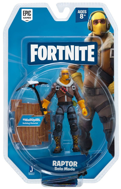 Fortnite Solo Mode Raptor Action Figure