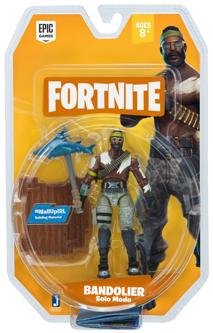 Fortnite Solo Mode Bandolier Action Figure