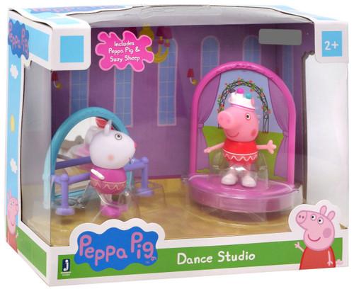 Peppa Pig Dance Studio Exclusive Mini Figure 2-Pack