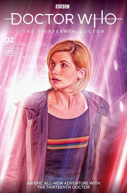 Titan Comics Doctor Who The Thirteenth Doctor #2 Comic Book [Brooks Cover B]